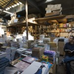 A bookshop storage room, Paris